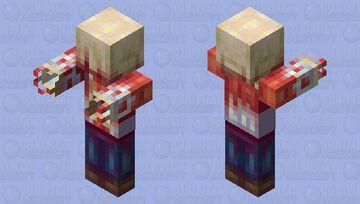 Headcrab Zombie Minecraft Mob Skin