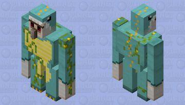 Iron Golem's halloween costume Minecraft Mob Skin
