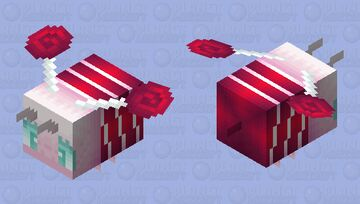 Candy bee Minecraft Mob Skin