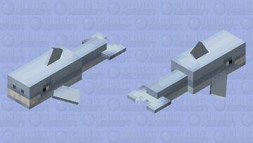 Dolphin to Shark Minecraft Mob Skin