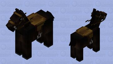 Personal horse Minecraft Mob Skin