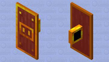 Piglin Gold shield Minecraft Mob Skin