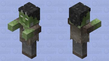 Frankenstein's monster -- Universal Monsters Minecraft Mob Skin