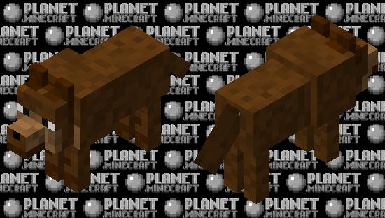 Dog Minecraft Skin