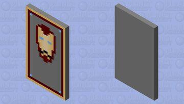 Iron Man cape Minecraft Mob Skin