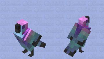 Retro Birb! Minecraft Mob Skin