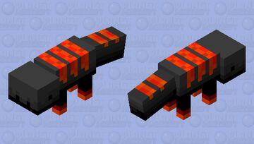 Flame Salamander Minecraft Mob Skin