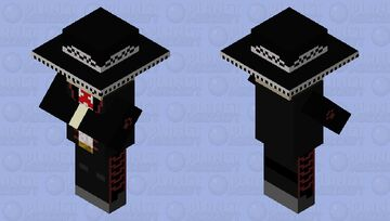 esqueleto charro Minecraft Mob Skin