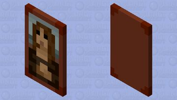 Mona Lisa Cape Minecraft Mob Skin