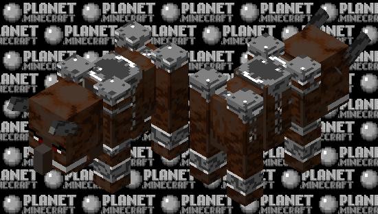 Iron-Clad Ravager Minecraft Skin