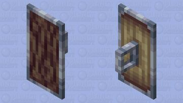 Bark Shield Minecraft Mob Skin