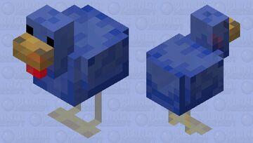 Blue Gumdrop Minecraft Mob Skin