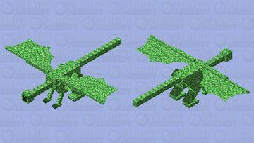 Creeper Dragon Minecraft Mob Skin