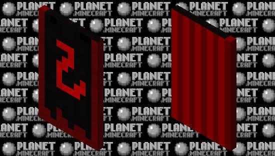 Red Dragon Cape Minecraft Skin