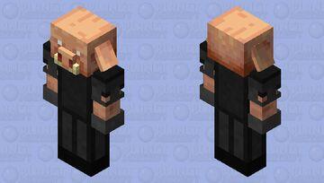 basalt armored piglin Minecraft Mob Skin