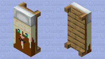 sprinkle bed Minecraft Mob Skin