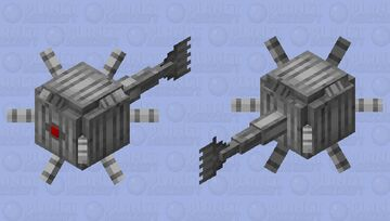 Robot guardian Minecraft Mob Skin