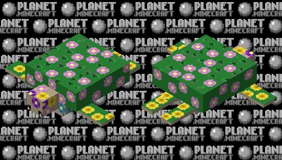 Flora the Floral Turtle Minecraft Skin