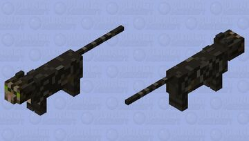 Rocket the Cat. Minecraft Mob Skin