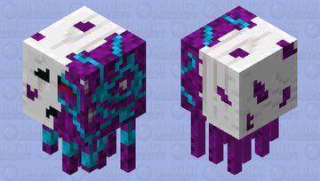 Tech Corrupet Ghast (ARK Extinction Ghast) Minecraft Mob Skin