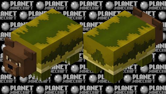 Seabear from Spongebob Minecraft Skin