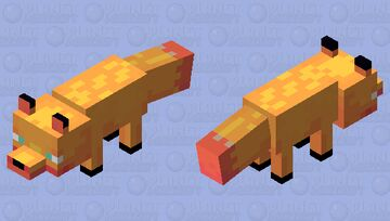 ~Sand Fox~ Minecraft Mob Skin