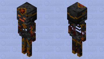 Wither Skeleton magic Minecraft Mob Skin