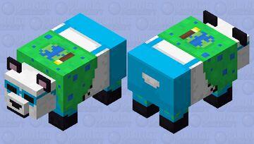 Party Panda - PMC 10 Year Anniversary Minecraft Mob Skin