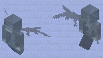 Ghost vex Minecraft Mob Skin