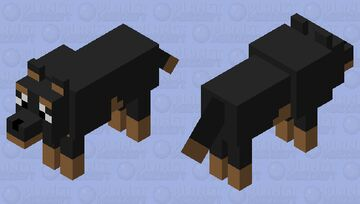 Tamed Rottie Minecraft Mob Skin