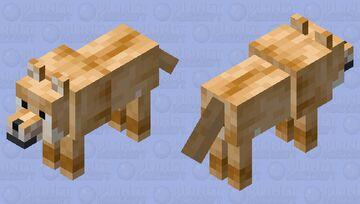 Shiba Inu Minecraft Mob Skin