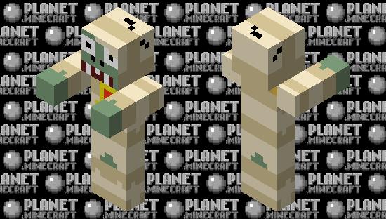 Mummy Zombie Minecraft Skin