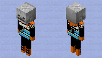 Realistic Papyrus Minecraft Mob Skin