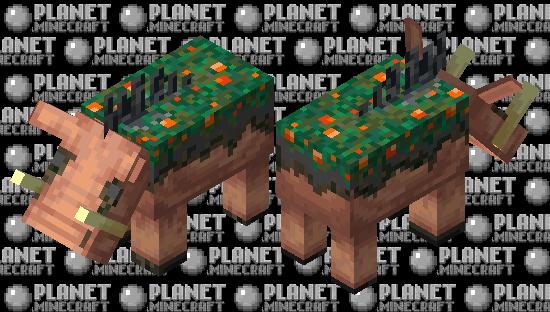 Warped Hoglin Corpse Minecraft Skin