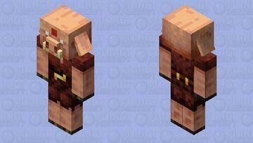 Strider Handler Piglin Minecraft Mob Skin
