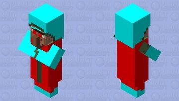 Evil Villager Minecraft Mob Skin