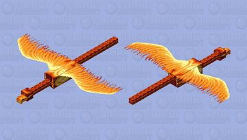 The Phoenix above the mountains || Mythical Creatures Mob Skin Contest Minecraft Mob Skin