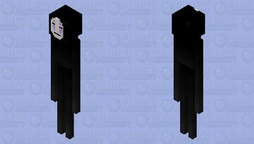 Ghibli Spirited Away No Face Minecraft Mob Skin