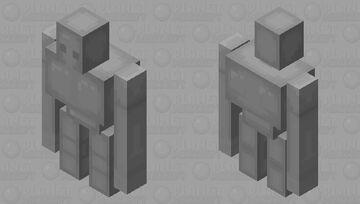 better iron golem (sorta chrome-ish...idk) Minecraft Mob Skin