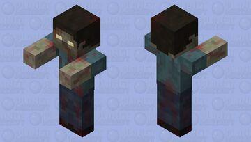 Minecraft zombie remastered/recreated Minecraft Mob Skin