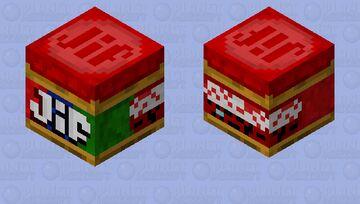 Jif Peanut Butter Minecraft Mob Skin