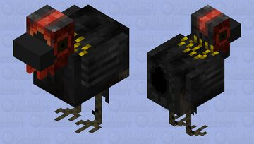 Plumitas: My Rooster Minecraft Mob Skin
