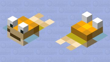 good times with scar pufferfish Minecraft Mob Skin