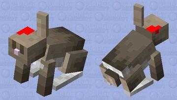 Hurt Rabbit Minecraft Mob Skin