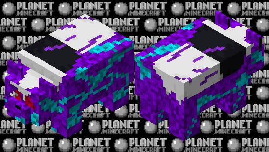 Tech Corruptet Panda (ARK Extinction Panda) Minecraft Skin