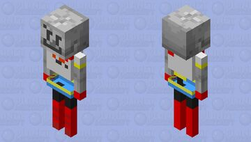 I, THE GREAT PAPYRUS! Minecraft Mob Skin