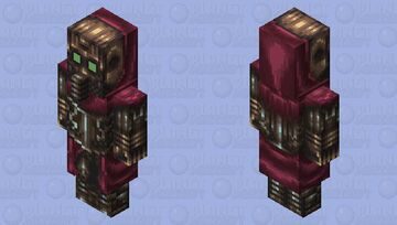 Wastlander assassin Vindicator Minecraft Mob Skin