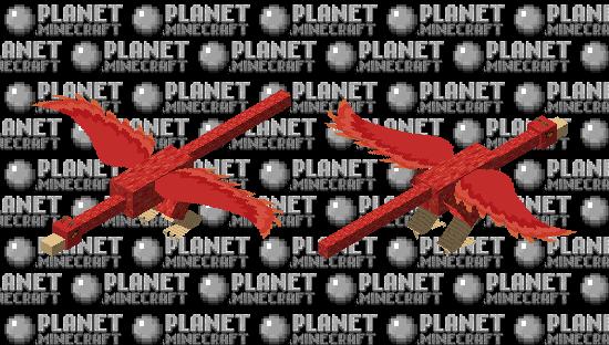 Firebird (Slavic folklore) Minecraft Skin