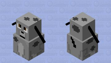 Spot the Robot Dog Minecraft Mob Skin