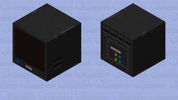 Television ghast Minecraft Mob Skin